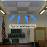 Ceiling Microphone Arrays